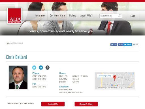 Alfa Insurance - Chris Ballard Insurance Agency