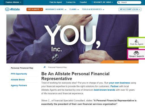 allstate personal financial representative harold messner