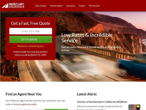 Mercury Insurance Quote | Mercury Insurance Group